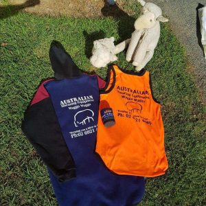 Aussie Shearing Singlets, Hoodies & Stubby Holders
