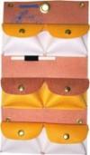 Comb Pouch (Felt) 6 Pocket