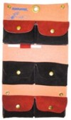 Comb Pouch (Leather) 6 Pocket